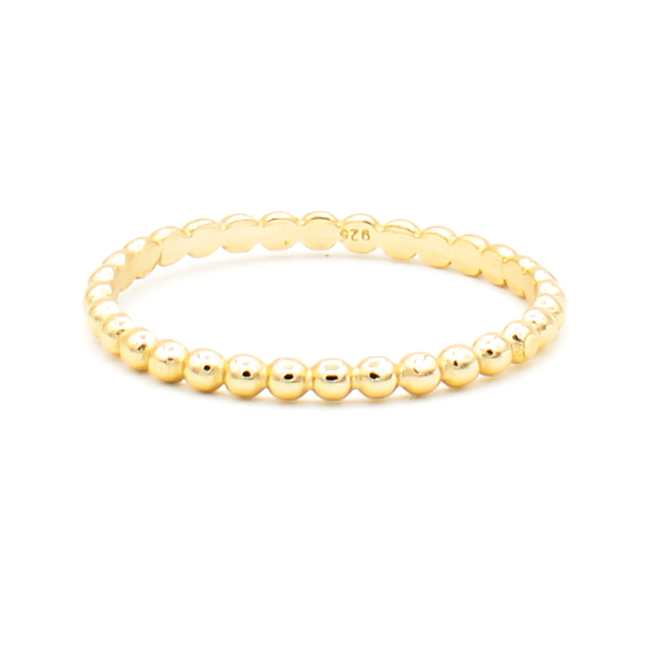 doble dot gold anillo
